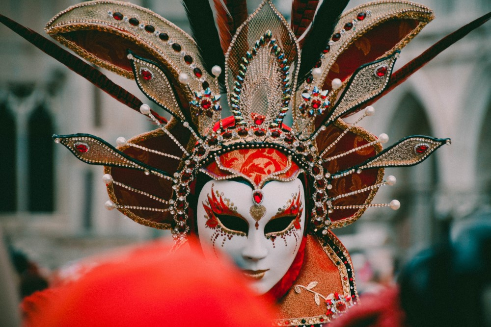 mask in a masquerade