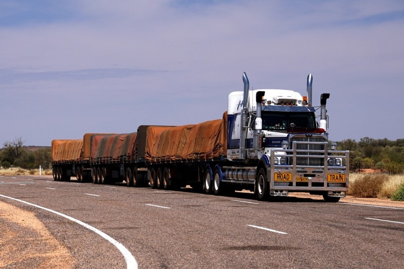 road train in Australia