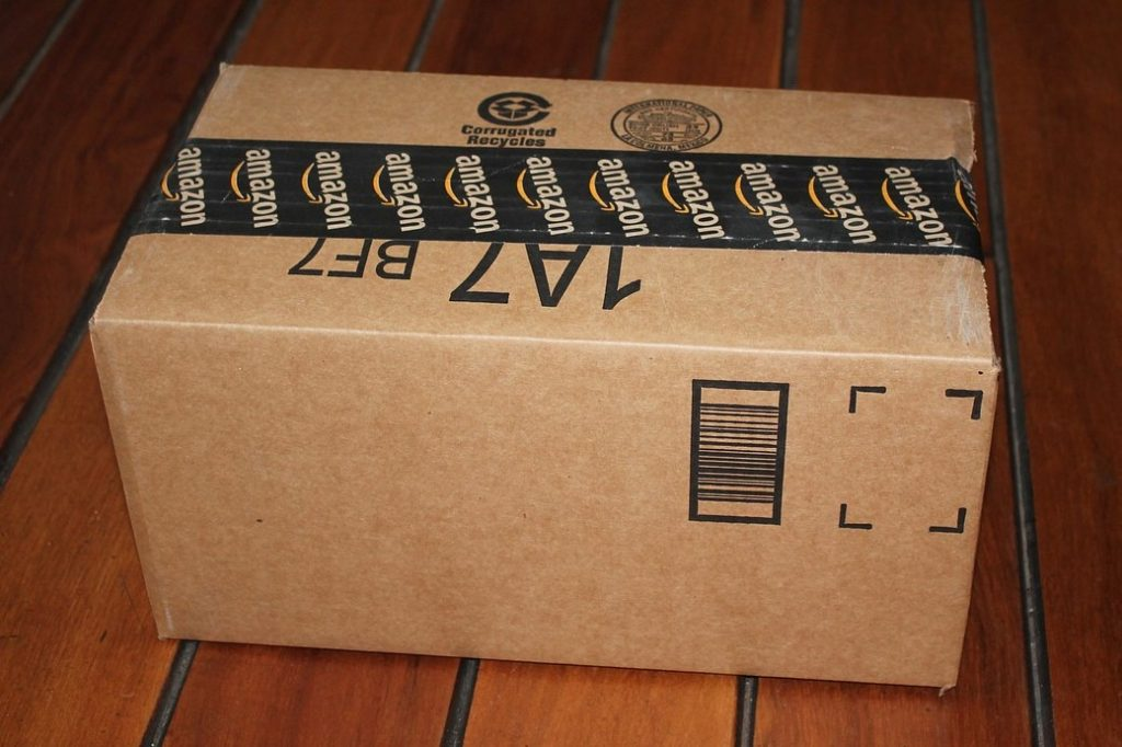 Amazon box or package