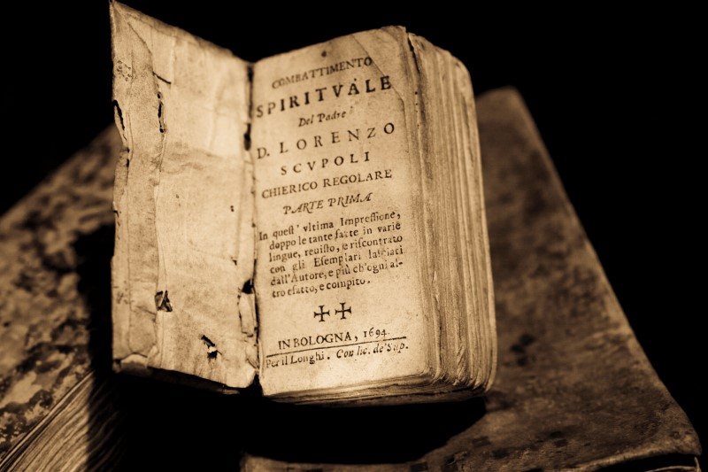 A difficult book to read may be a book worth reading - published in Bologna, 1694
