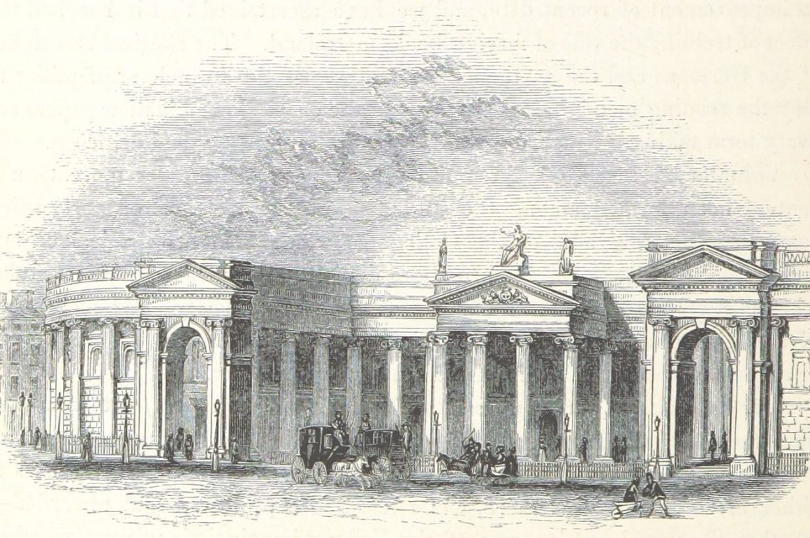 nineteenth-century bank