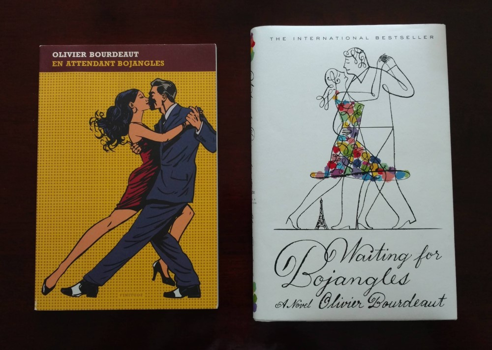 Two covers of Waiting for Bojangles, French and United States versions