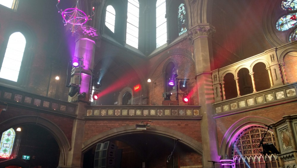 There's a bar at Union Chapel