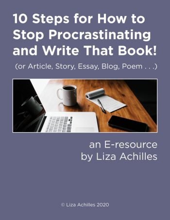 Cover image of e-resource called How to Stop Procrastinating and Write That Book!