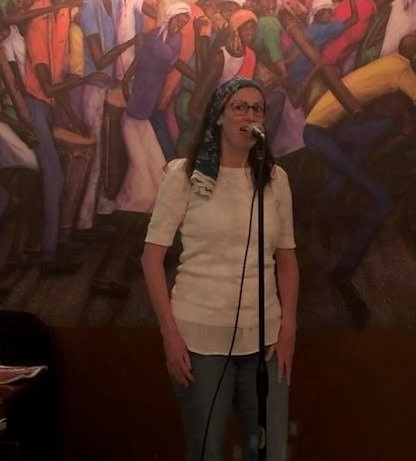 Liza Achilles was a featured poet at Poetry at the Port 4