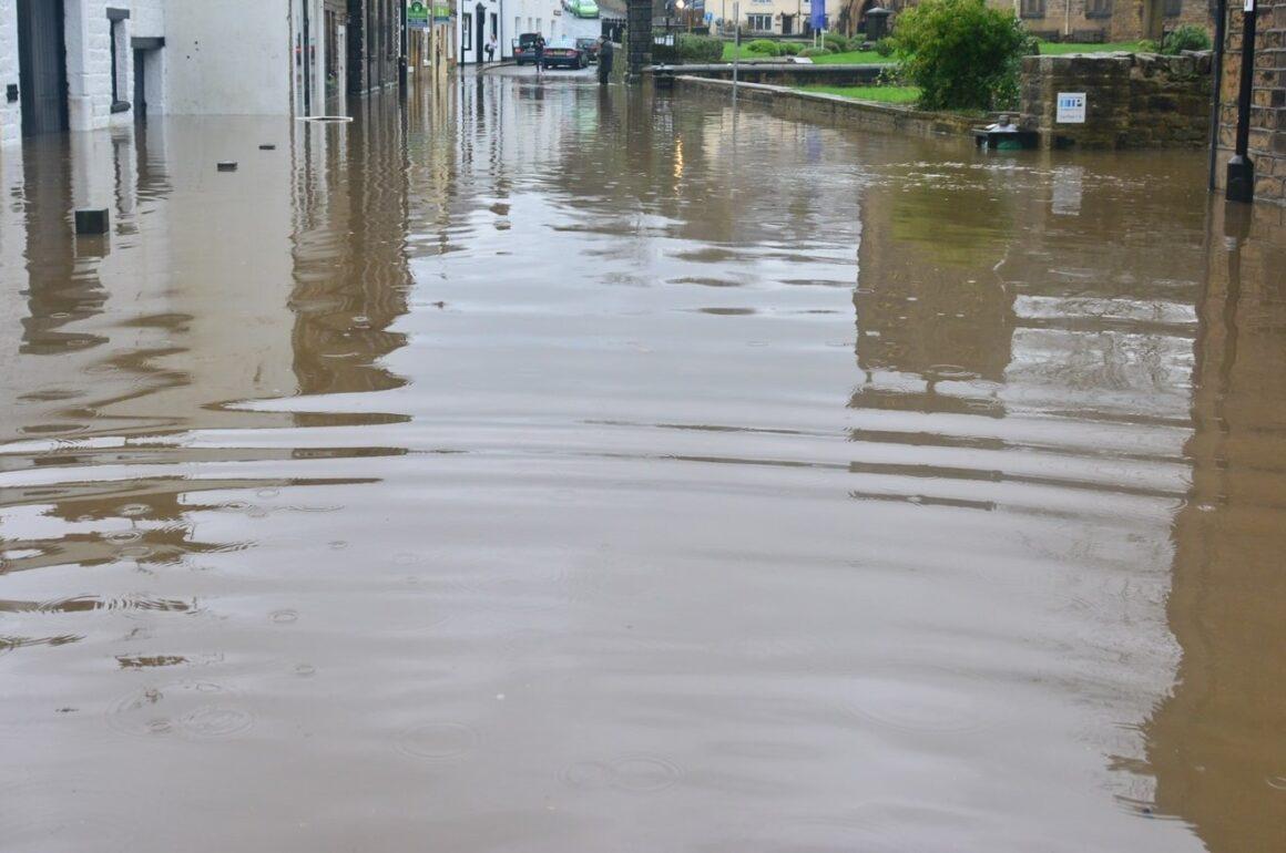 flood street tsunami aftermath
