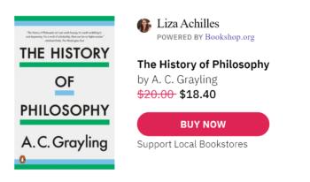 Bookshop - The History of Philosophy